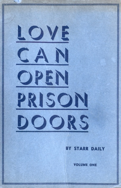 Title Page for Love Can Open Prison Doors (1935 Edition) by Starr Daily