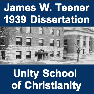 1939 Dissertation on Unity Cover