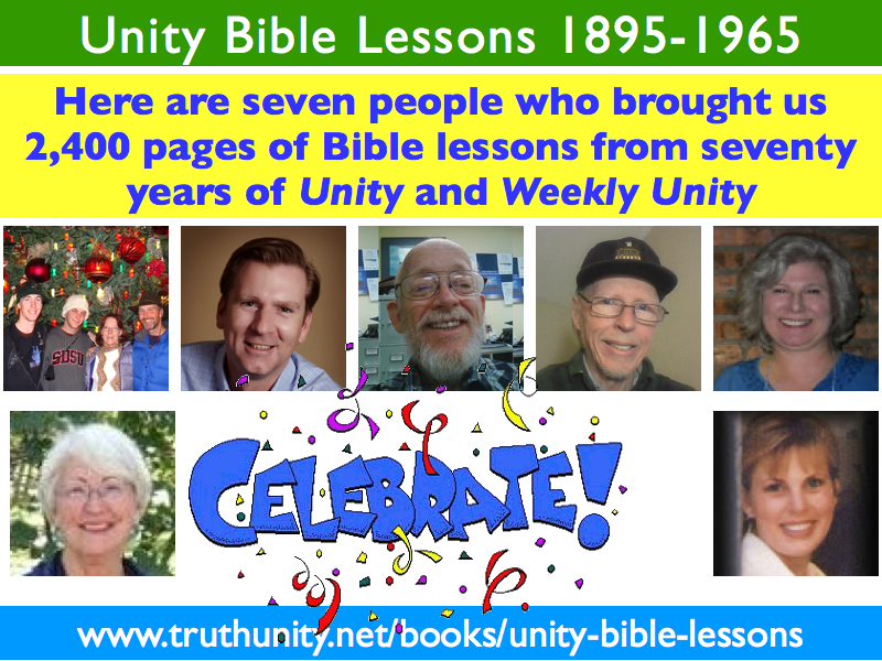 Unity Bible Lessons 1895-1965 Transcribers