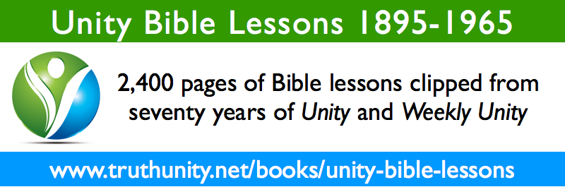 Unity Bible Lessons 1895-1965 Banner