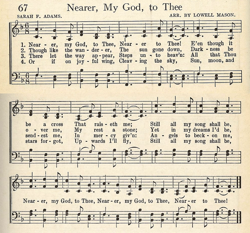 Nearer My God To Thee entry in Unity Song Selections 1941
