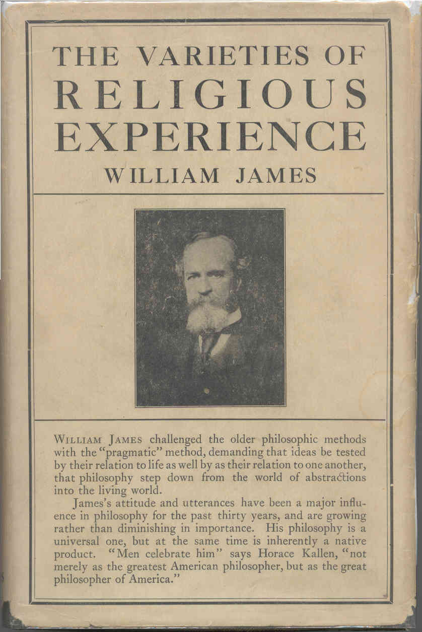 William James The Varieties of Religious Experience Cover