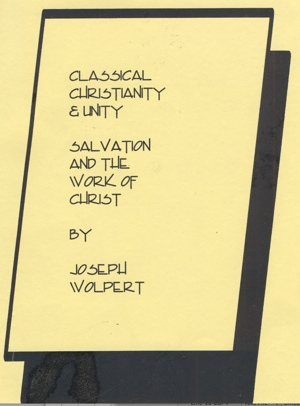 Wolpert Classical Christianity and Unity Cover