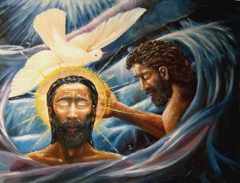 Baptism of Christ—Davezelenka