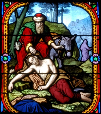 The Good Samaritan—St. Eutrope—Clermont-Ferrand