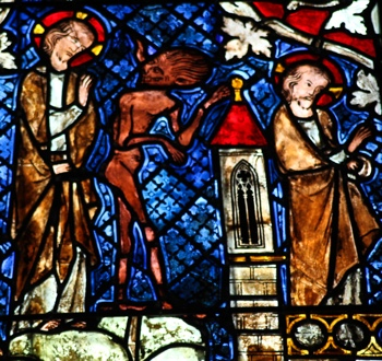 Temptation of Christ—Strasbourg Cathedral