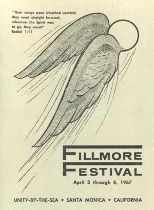 Fillmore Festival Program 1967