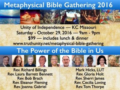 Metaphysical Bible Gathering Flyer