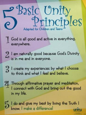 Unity Five Principles for Children