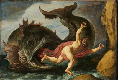 Jonah and the Whale (1621) by Pieter Lastman