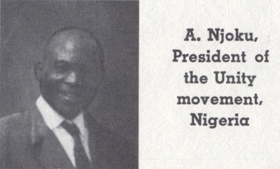 Awa Njoku — Founder of Nigeria Unity Movement