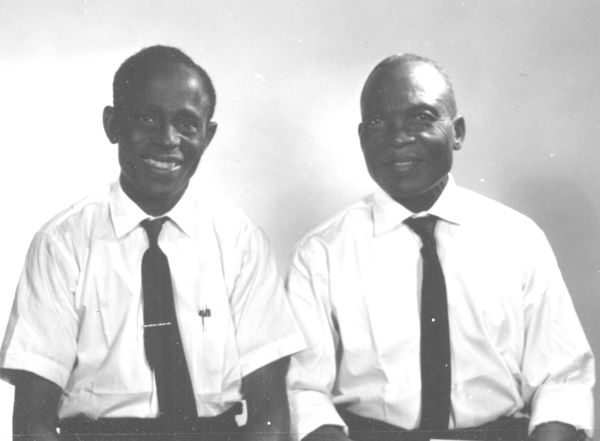 Rev. Samuel Uba with Rev. Awa Njoku