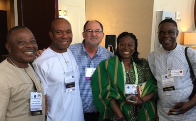 Mark Hicks with Unity Ministers in June 2016 at Unity Peoples Conference
