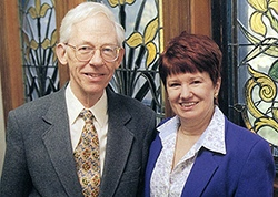 Alan Anderson and Deb Whitehouse
