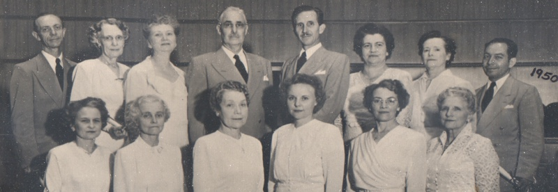 Unity Ordination Photo 1950