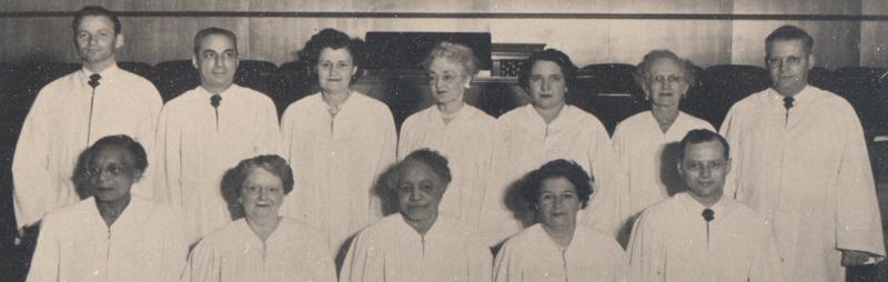 Unity Ordination Photo 1952