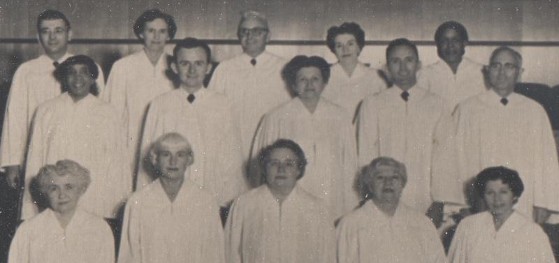 Unity Ordination Photo 1954