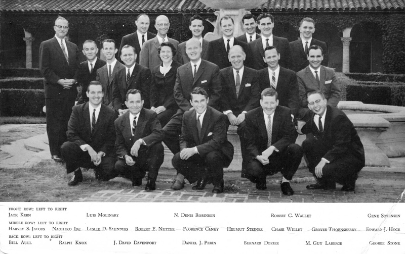 1956 Unity Ministerial Students