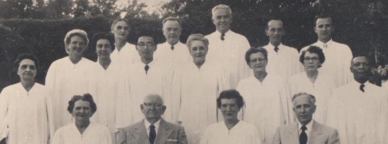 Unity Ordination Photo 1956