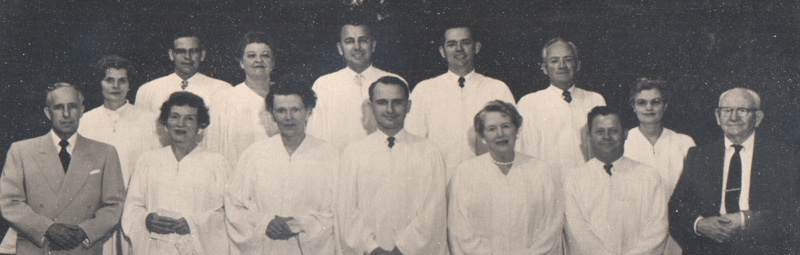 Unity Ordination Photo 1957