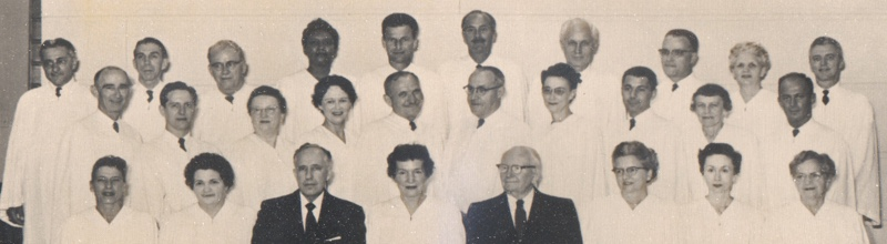 Unity Ordination Photo 1958