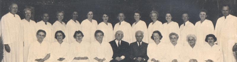 Unity Ordination Photo 1963