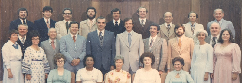 Unity Ordination Photo 1977
