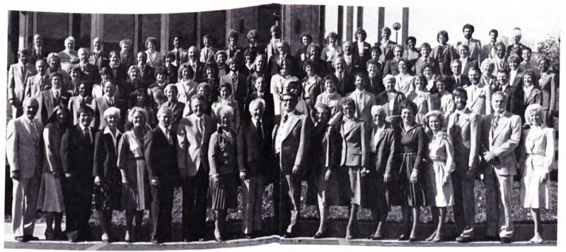 Ministerial Students Photo 1980 from Jan/Feb 1981 Contact Magazine