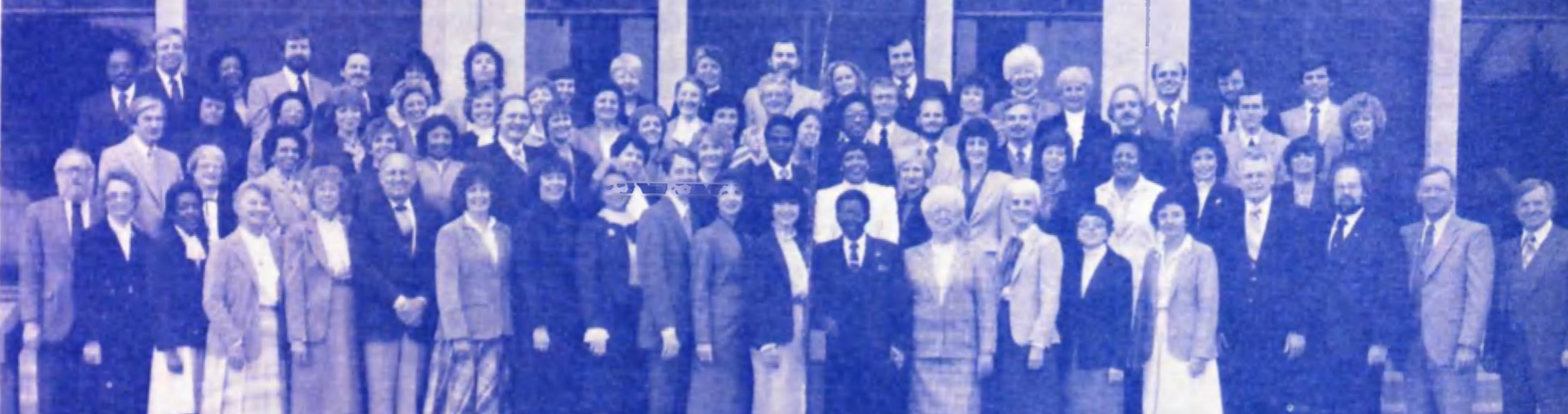 Unity Ministerial Faculty and Students 1984