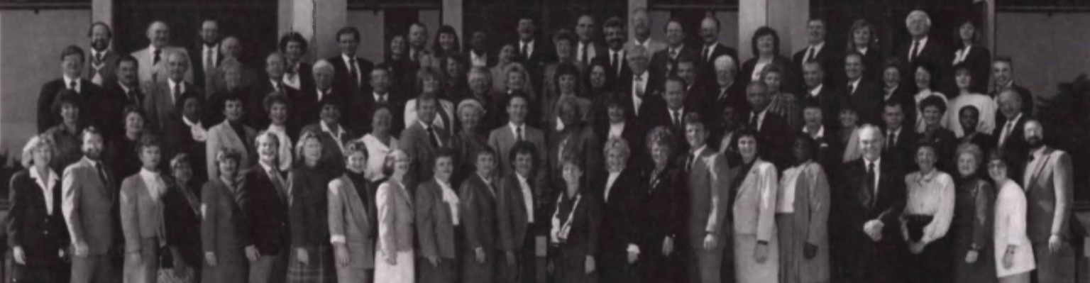 Unity Ministerial Faculty and Students 1988