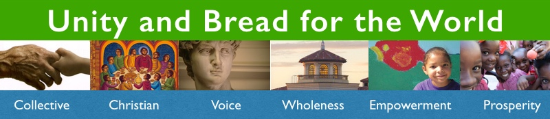 Unity and Bread for the World Banner