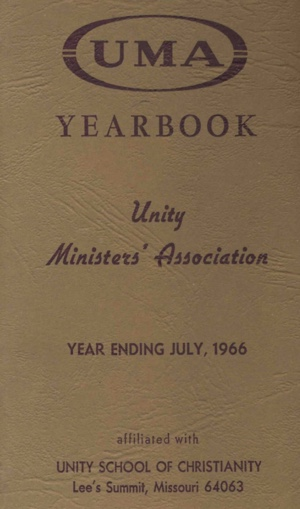 1966 Unity Ministers Association Yearbook