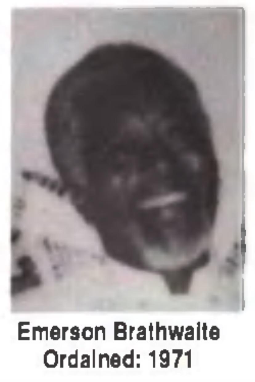 Emerson Brathwaite ordained 1971