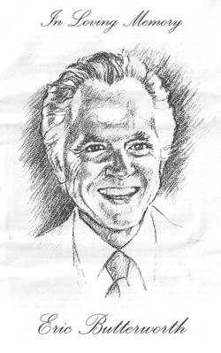 Eric Butterworth Memorial Service Portrait