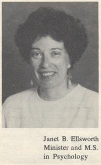 Rev. Janet Ellsworth