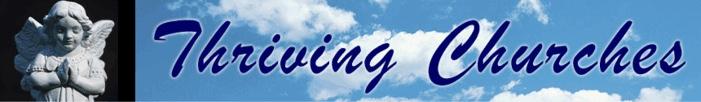 Thriving Churches dot org Website Banner