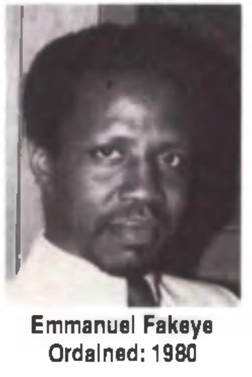 Emmanuel Fakeye Unity Minister
