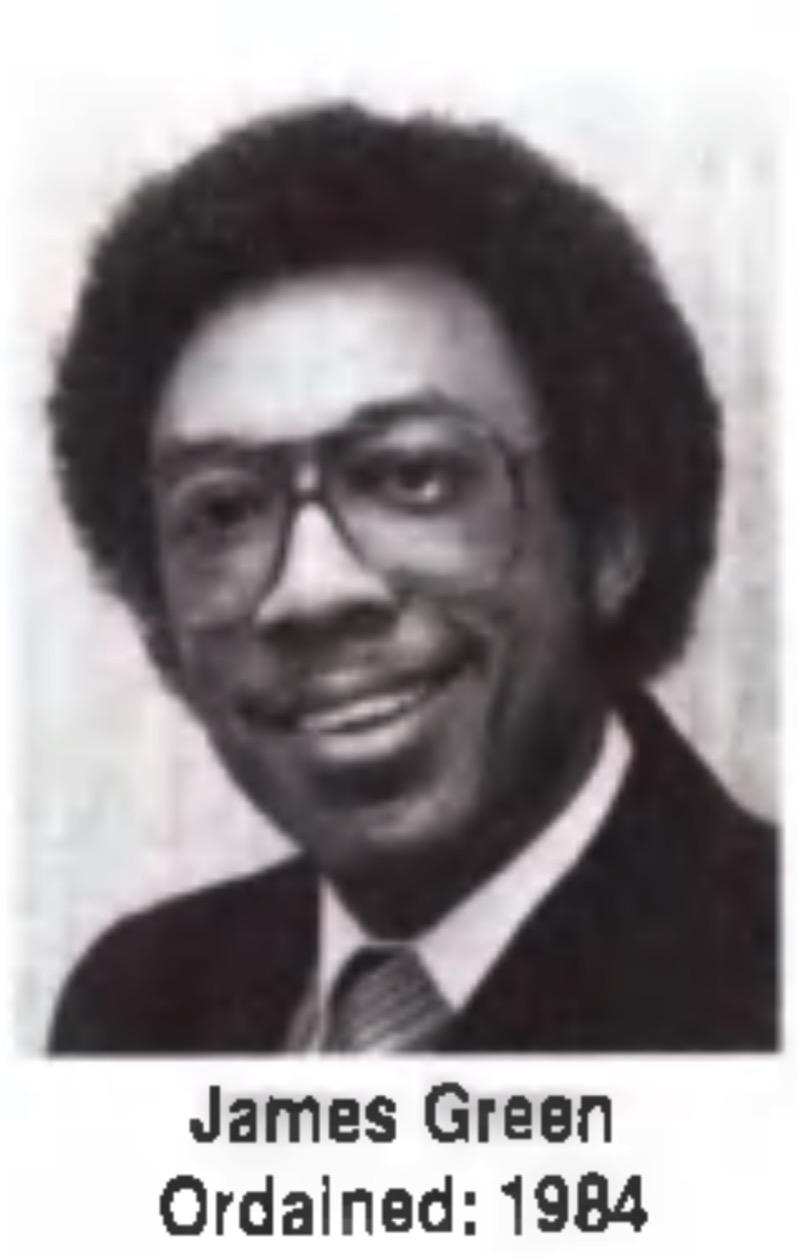 James E Green Unity Minister