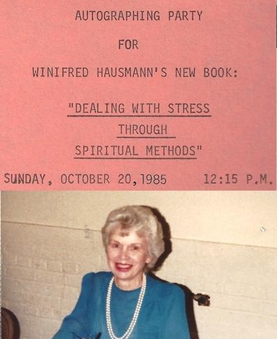 Winifred Wilkinson Hausmann in 1985