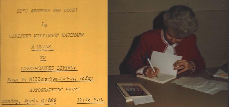 Winifred Wilkinson Hausmann in 1986