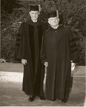 Dr. William Hornaday and Ernest Holmes