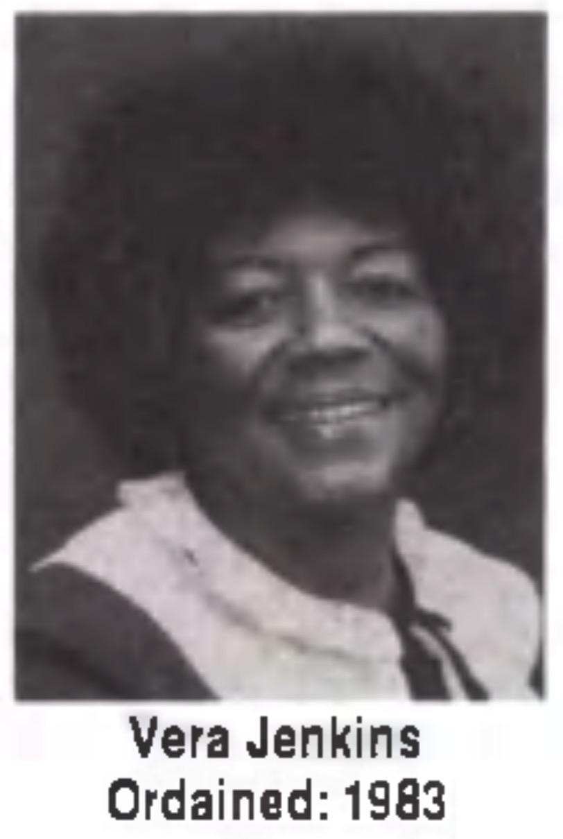 Vera Jenkins Unity Minister