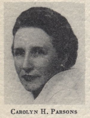 Carolyn Hightower Parsons
