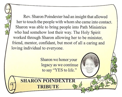 Sharon Poindexter Tribute