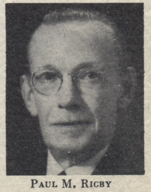 Paul M. Rigby Unity Minister