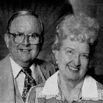 Hal and Lassie Rosencrans in 1987