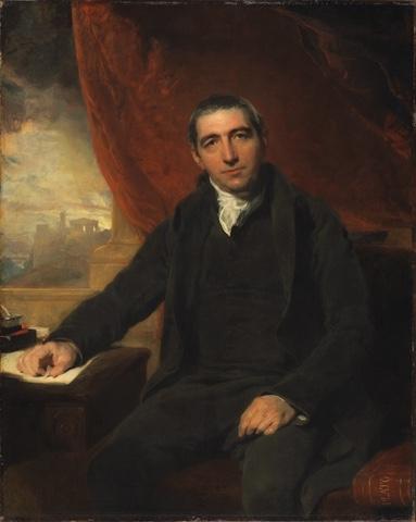 Thomas Taylor painting by Thomas Lawrence
