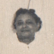 Unidentified person in 1960 from ordination photo
