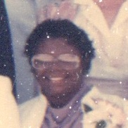 Unidentified person in 1986 from ordination photo