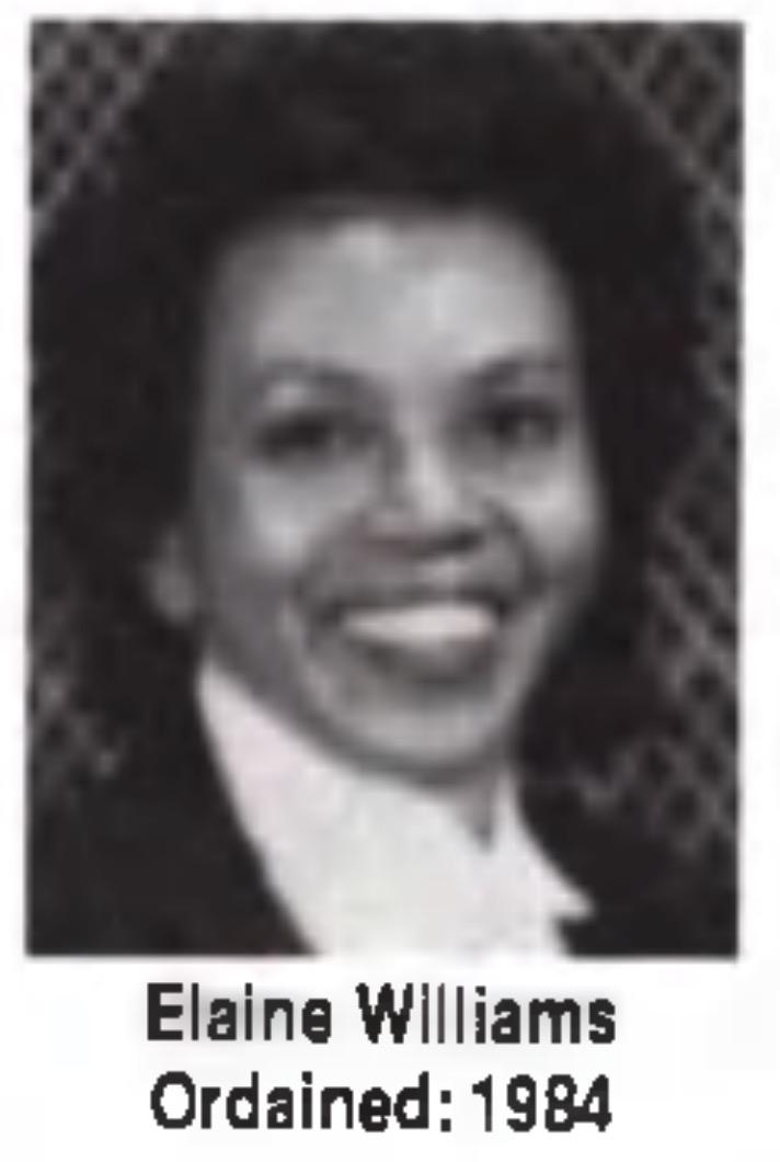 Elaine Williams Unity Minister